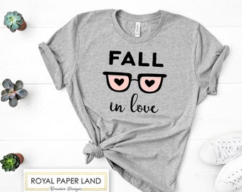Fall In Love Valentines T-shirt   Women's Valentines Shirt   Valentine's Shirt   Women's Shirt   Valentines Day Gift For Her   Unisex Size