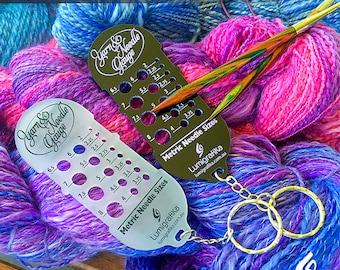 Yarn and Needle Gauge (Metric sizes)