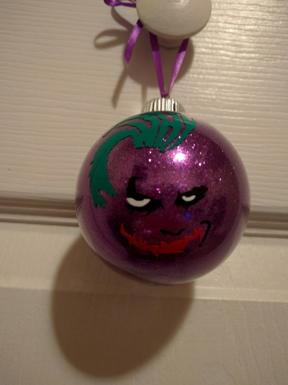 Joker Christmas Ornament.Joker Christmas Ornament