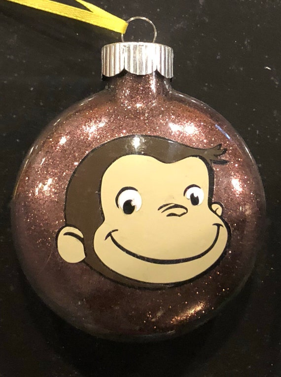 image 0 - Curious George Christmas Ornament Etsy