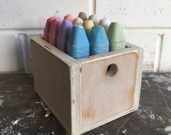Chalk in a box