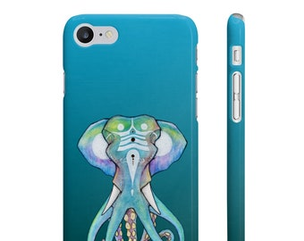 CASE 'Octophant' slim phone cover for iPhone and Samsung