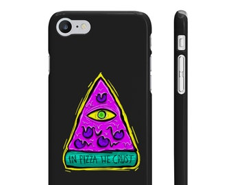 CASE 'In Pizza We Crust' slim phone cover