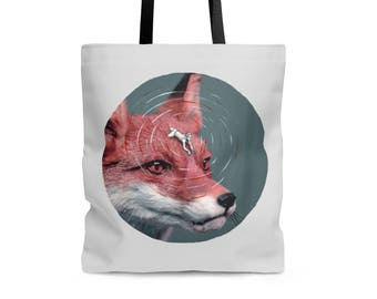 TOTE BAG 'Foxy rider II' polyester shoulder bag