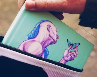 NOTEBOOK 'Flutter by' ruled hardcover journal