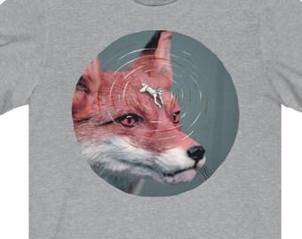 T-SHIRT 'Foxy Rider' unisex jersey short sleeve tee