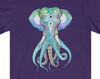 T-SHIRT 'Octophant' unisex jersey short sleeve tee