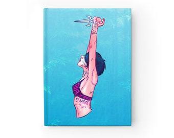 NOTEBOOK 'Savage by Nature' ruled hardcover journal