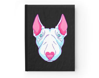 NOTEBOOK 'Bull Of Hearts' blank hardcover journal