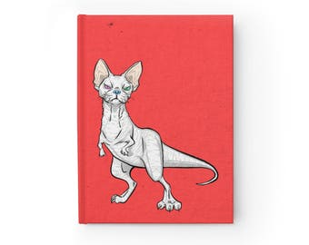 NOTEBOOK 'Devonnosaurus Rex' blank hardcover journal