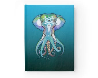 NOTEBOOK 'Octophant' blank hardcover journal