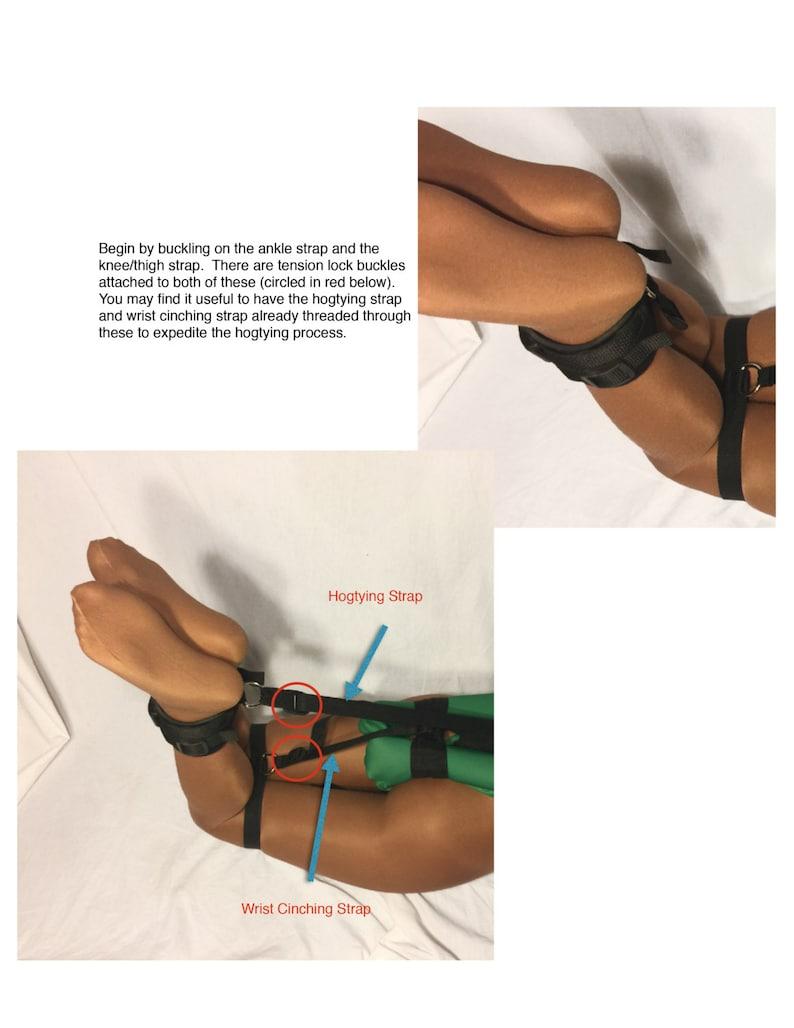 Self Bondage Hogtie System Advanced Poly Webbing Mature | Etsy