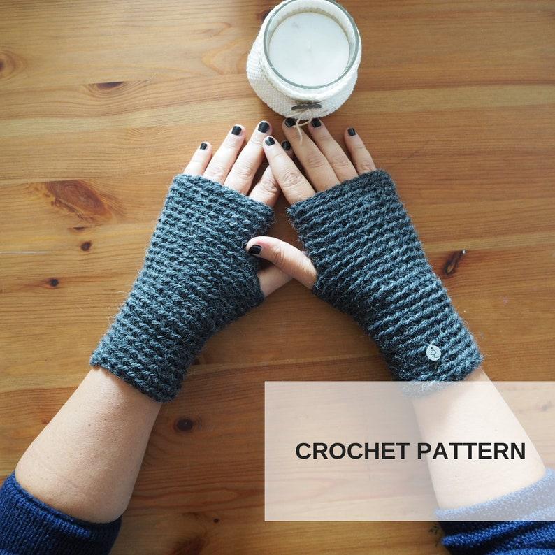 Tutorial Guanti Senza Dita Crochet Tutorial Crochet Tutorial Etsy