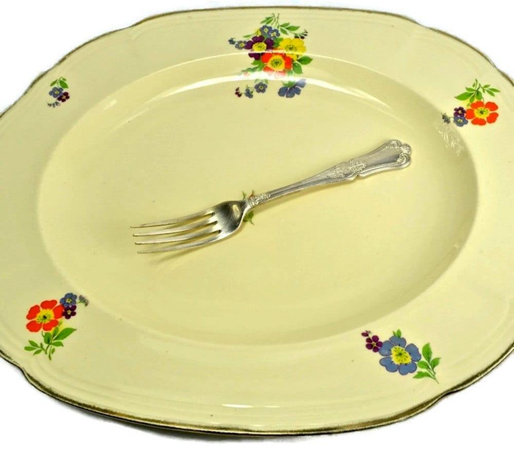 Alfred Meakin Vintage Serving Plate Meat Dish or Platter | Etsy