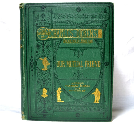 Our Mutual Friend 1875 By Charles Dickens Household Edition Etsy