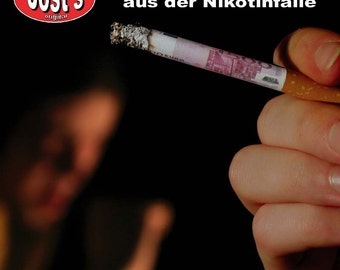 My successful way from the nicotine trap, help smoking cessation program, (German)