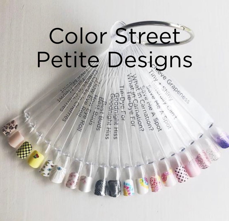 Color Street PETITE Nail Display Petite Sets Perfect for image 0