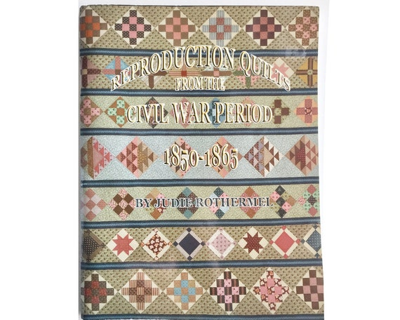 Civil War Quilt Pattern Book Reproduction Quilts From The Etsy Cool Civil War Quilt Patterns