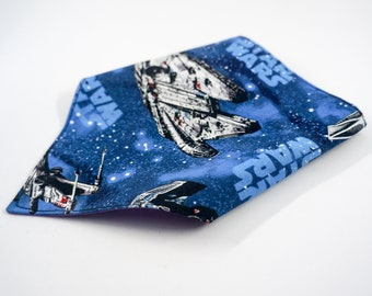 Star Wars Pet Bandana, Millenium Falcon Dog Bandana, Spaceship Cat Bandana, Geeky Pet Accessory