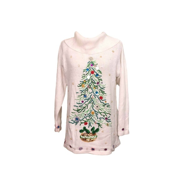 Ugly Christmas Sweater, Size M, Holiday Sweater, S