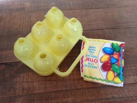 Jell O Egg Mold Vintage Jell O Mold Jell O Mold Egg Mold Etsy