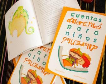 Children's book   Different stories for different children (Cuentos diferentes para niños diferentes)   Spanish