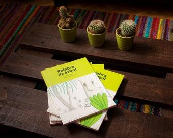 Children's book   Word of tree (Palabra de árbol)   Spanish