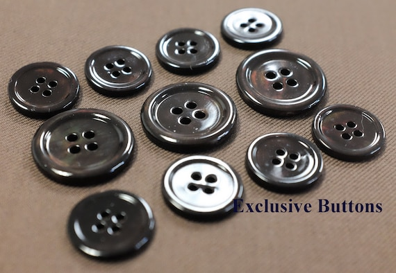 MOP Blazer or Sportcoat For Suit Purple Mother Of Pearl Buttons Set