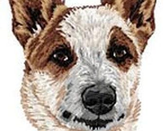 Australian Cattle Dog, Red Heeler, Blue Heeler  Embroidered Patch or Hat