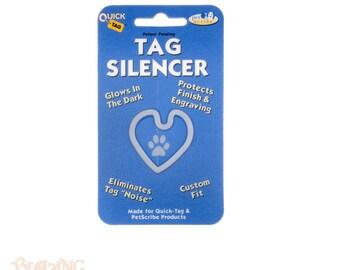 Heart Shaped Pet tag Silencer - Pet Id Tag Protector