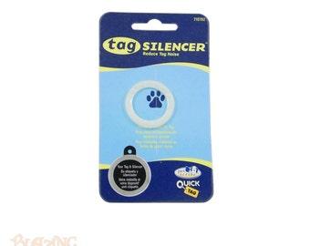 Circle Shaped Pet tag Silencer - Pet Id Tag Protector