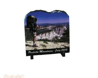 Personalized Photo Slate Rock Tablet