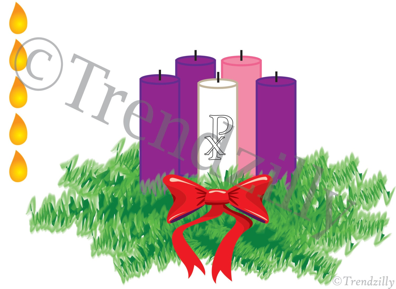 Advent Activity Pages, Advent Wreath Printable, Christmas Decoration ...