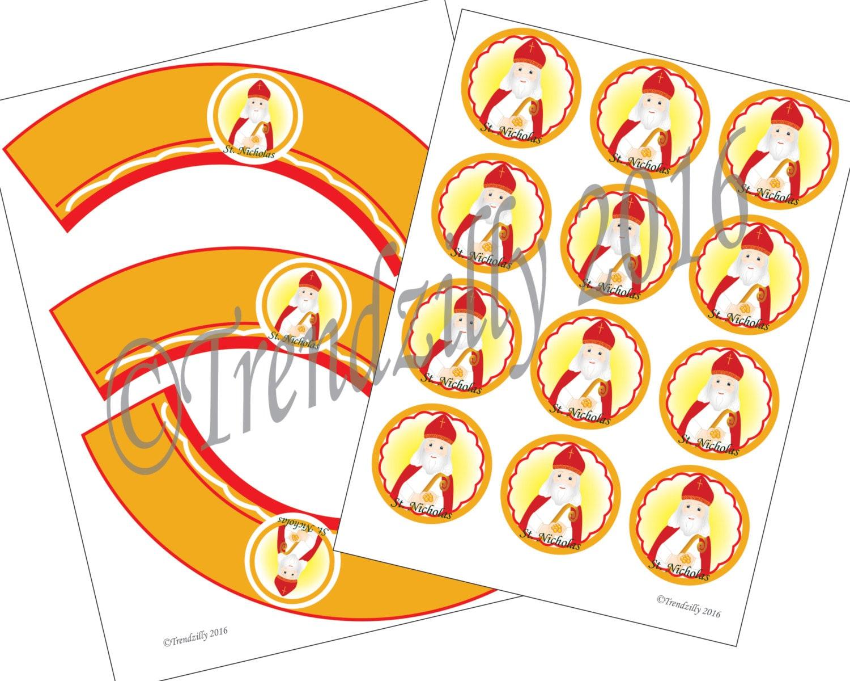 image relating to St Nicholas Prayer Printable called St. Nicholas Working day Printables, Saint Nicholas Working day Decoration