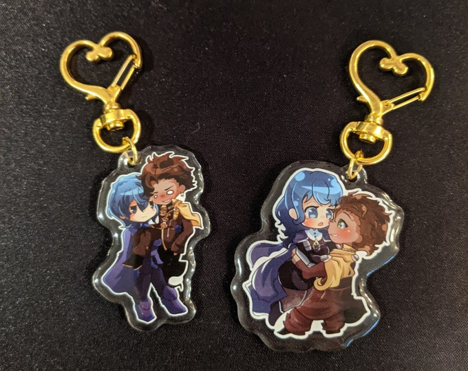 Featured listing image: Claude x Byleth Acrylic Charms