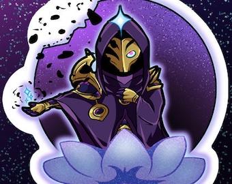 Dark Cosmic Jhin Single Sticker Sheet