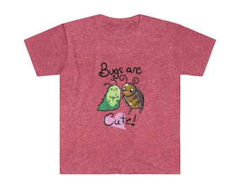 Bugs are Cute Unisex Softstyle T-Shirt