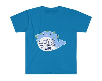 Gacha Whale Unisex Softstyle T-Shirt