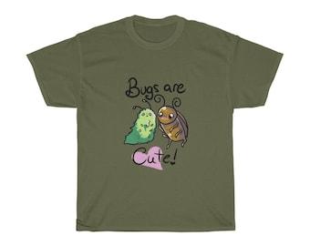 Bugs are Cute - Unisex Heavy Cotton Tee