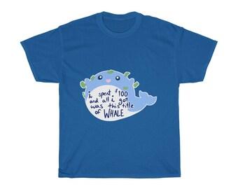 Gacha Whale - Unisex Heavy Cotton Tee