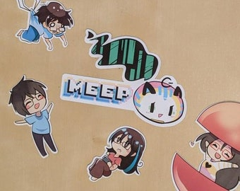 Make ANY chibi from a sticker sheet into a MAGNET!