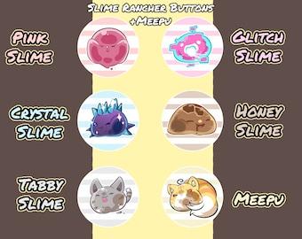 Slime Rancher + Meepu Buttons
