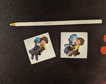 Claude x Byleth Mini Single Sticker