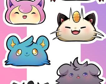PokeMeeps Sticker Sheet