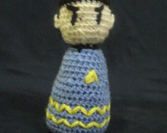 Crocheted Mr. Spock