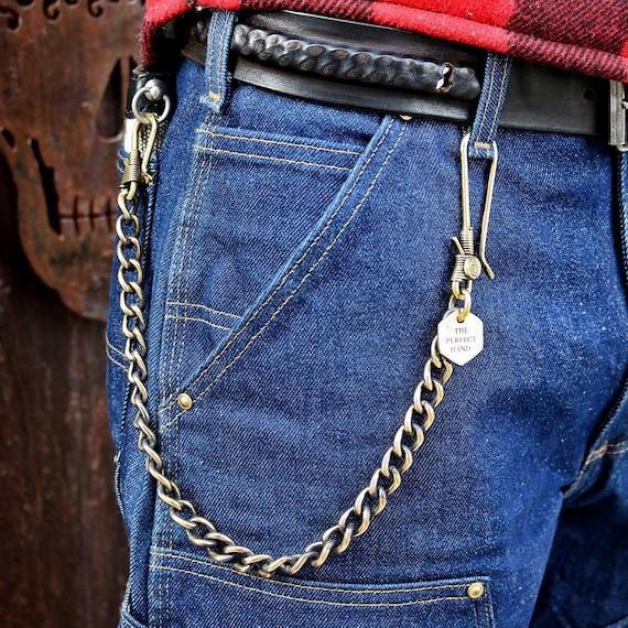 Vintage Chain Wallet Keychain Key Holder