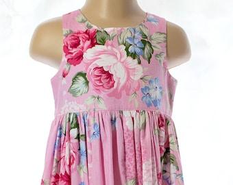 Dress, Pink Roses