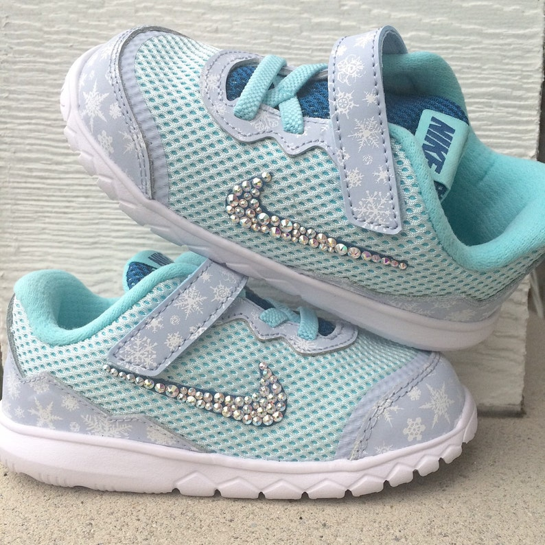40c7a2bc24a4 Swarovski Crystallized Baby Nikes Shoes NOT included