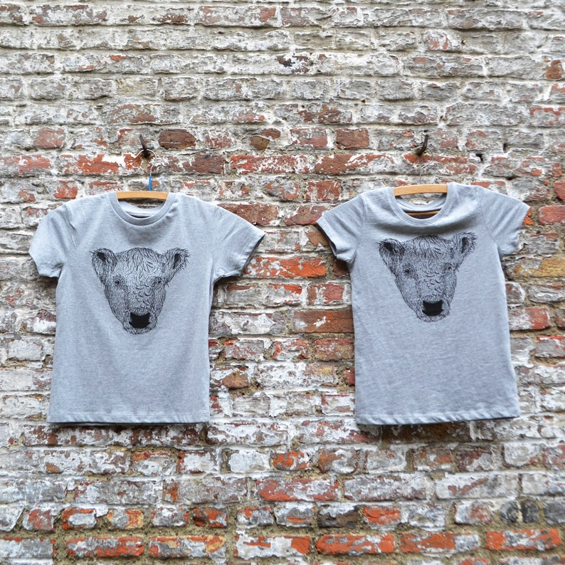 Brother and Sister Matching Outfit  Organic Cotton Grey image 0
