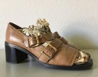 Vintage Collage Debs Shoes